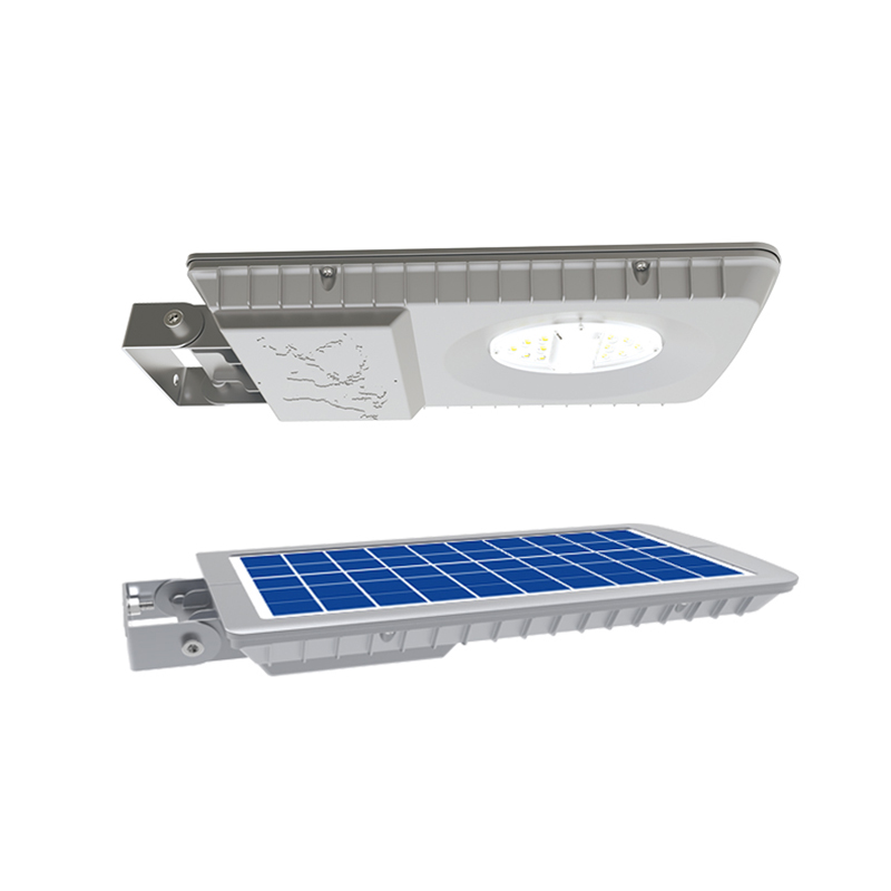 Уличный светильник 7Вт 660Лм на солнечных батареях с датчиком движения Flat Light 1.0S Blue Carbon