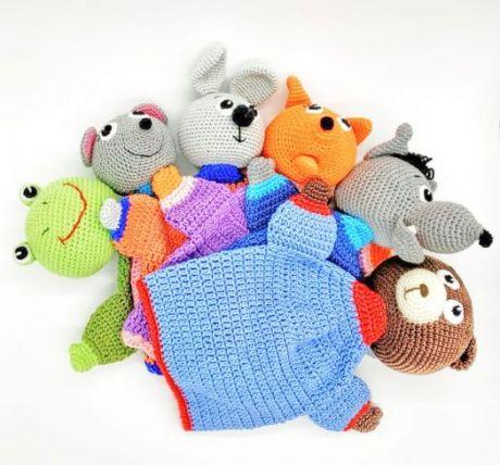 Набор ручных кукол для сказки Теремок