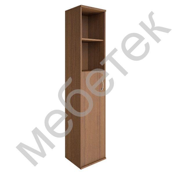 Шкаф высокий узкий левый (1 средняя дверь ЛДСП)