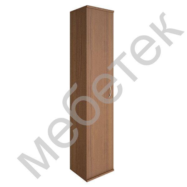 Шкаф высокий узкий левый (1 высокая дверь ЛДСП)