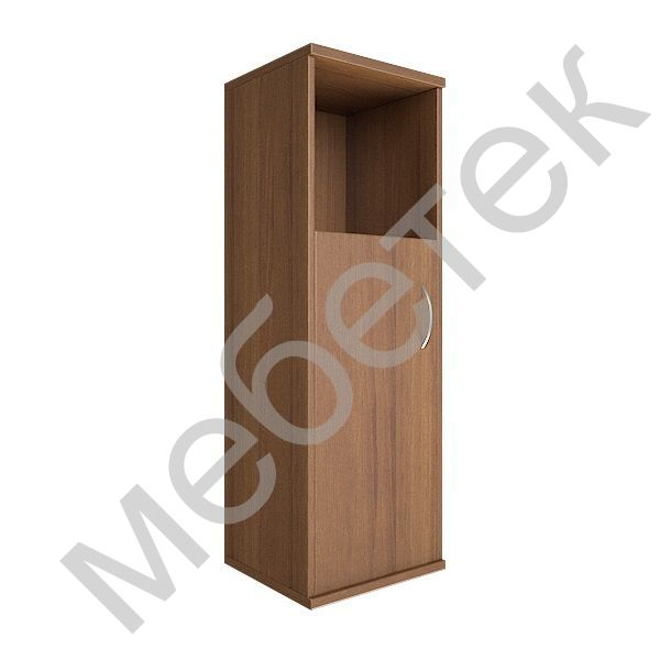 Шкаф средний узкий левый (1 низкая дверь ЛДСП)