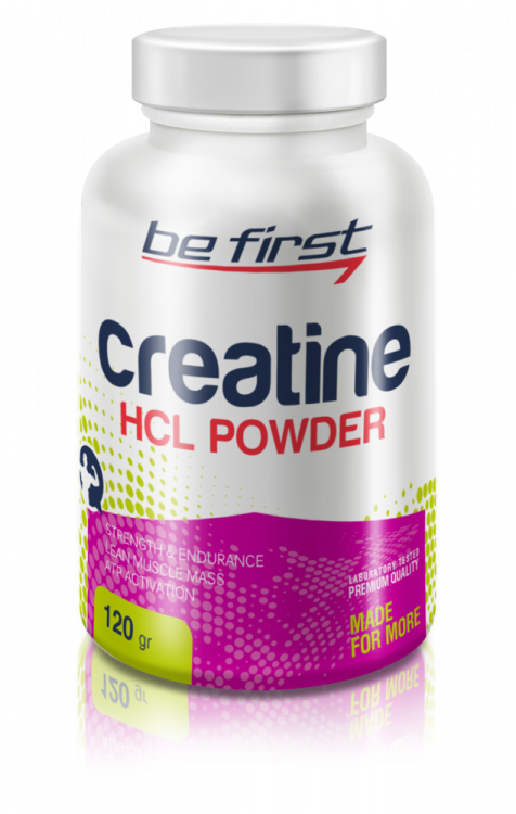 Creatine HCL Powder от Be First 120 гр