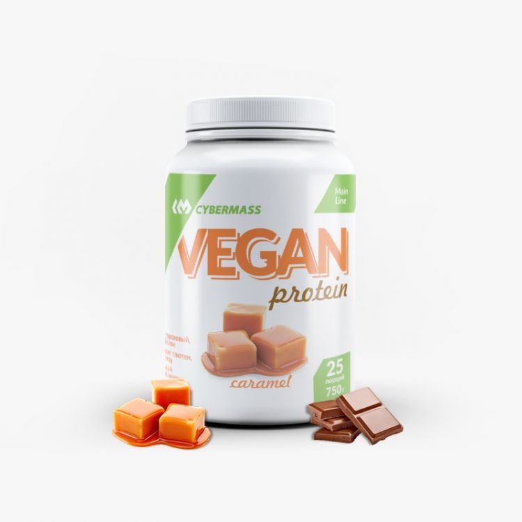 VEGAN Protein от CYBERMASS 750 гр 25 порций