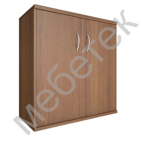 Шкаф низкий широкий (2 низкие двери ЛДСП)
