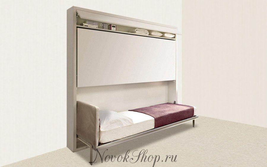 Двухъярусная кровать шкаф трансформер DUOS