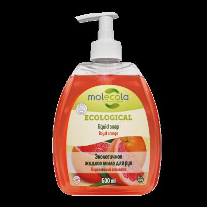 Экологичное жидкое мыло для рук Королевский апельсин, 500 мл