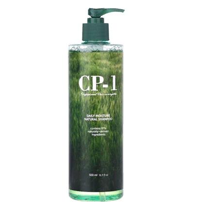 Натуральный увлажняющий шампунь для волос CP-1 Daily Moisture Natural Shampoo, 500 мл