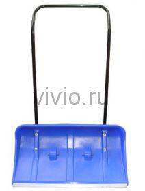 Движок-СКРЕПЕР 810*420мм ПЛАСТИК на КОЛЕСИКАХ
