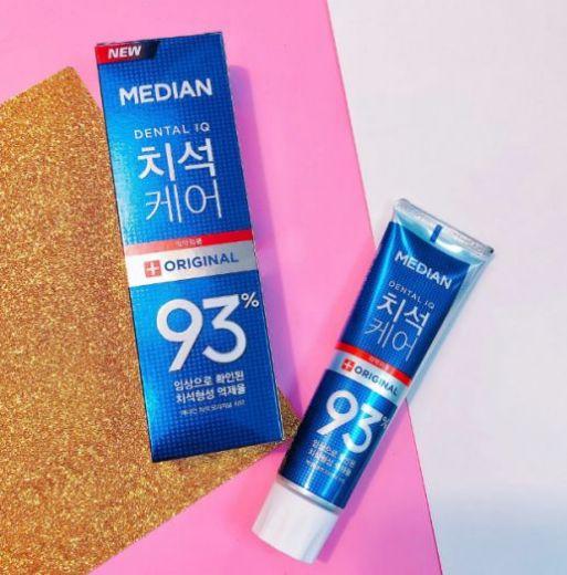 Зубная паста с цеолитом Median Dental IQ 93% Original