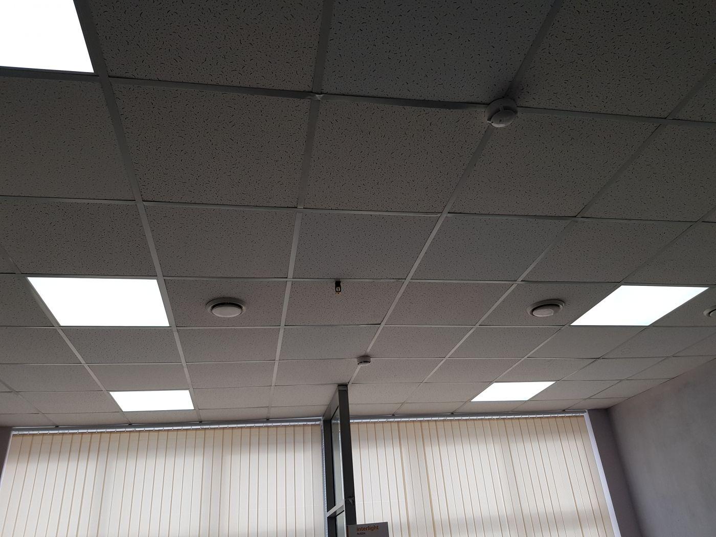Светодиодный светильник Армстронг 595х595х40мм 72Вт 5000K IP54 с ЭМС