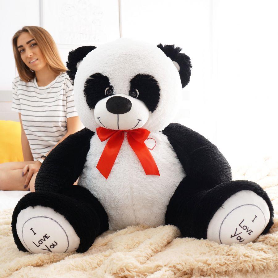 Мишка Бернард ОР-100см Длина-80см Панда