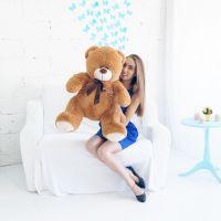 Мишка Кузя 100см Шоколадный