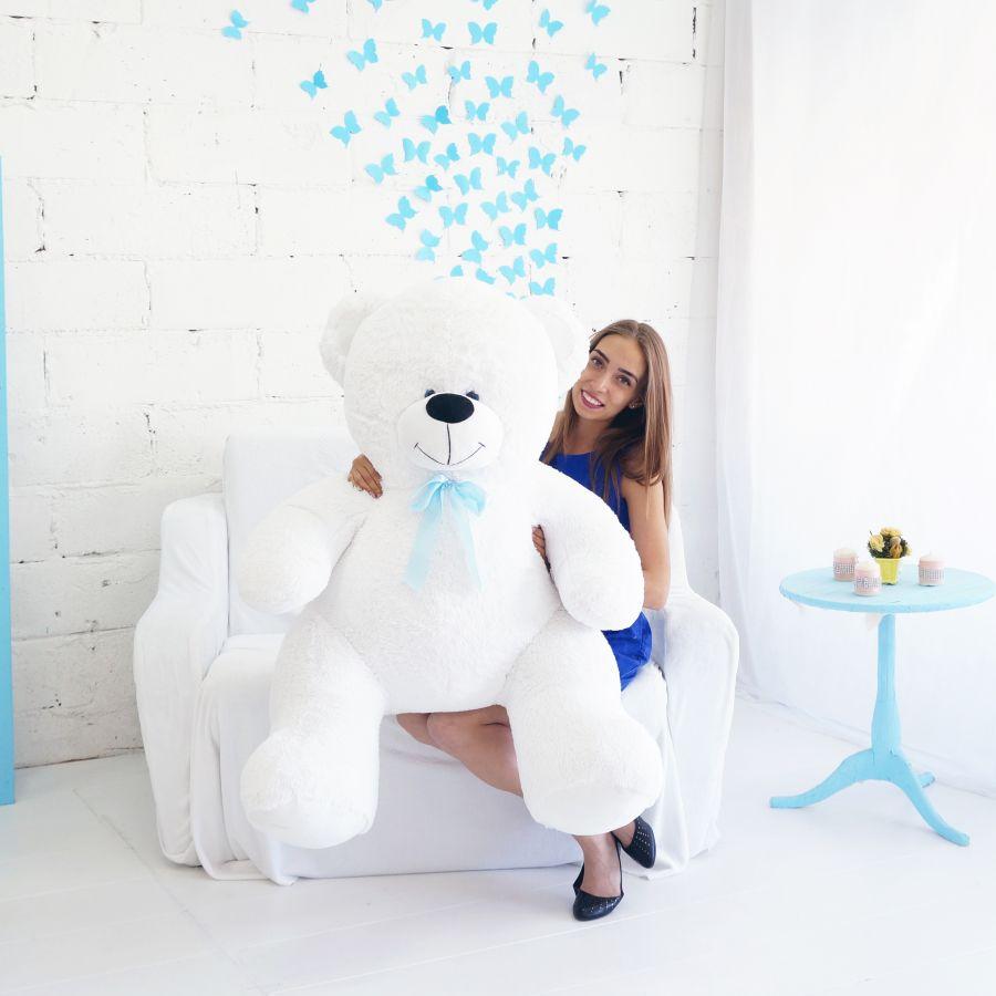 Мишка Кузя 160см Белый