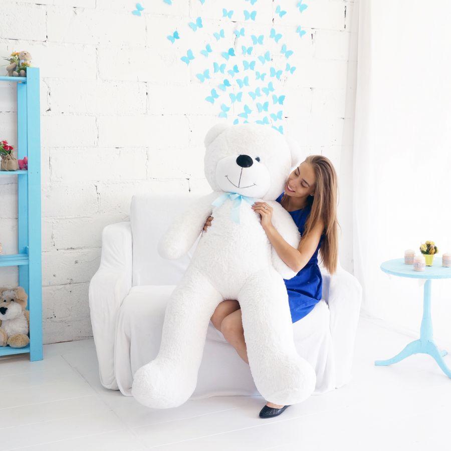 Мишка Федор 170см Белый