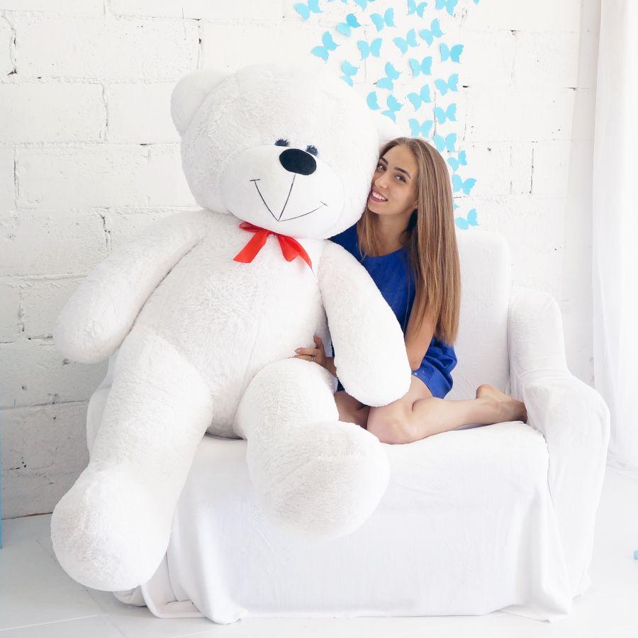 Мишка Федор ОР-200см Длина-170см Белый