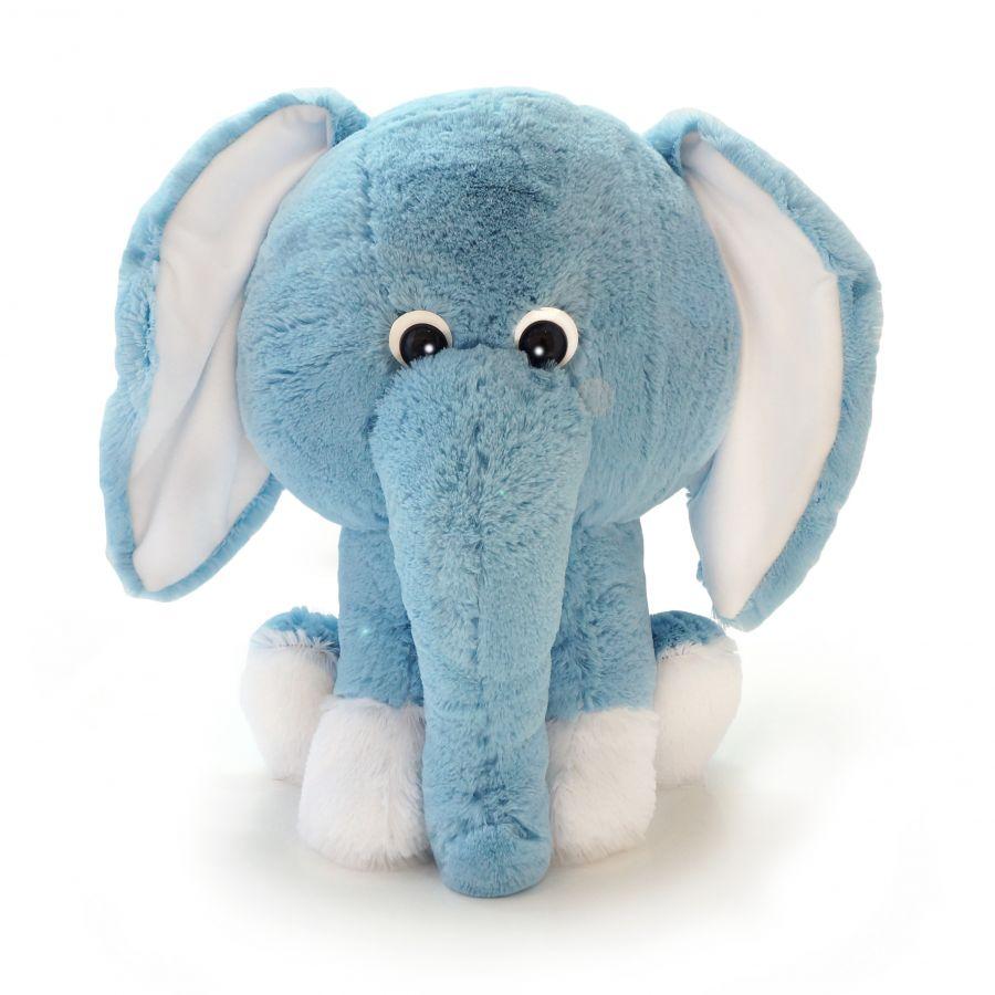Слоненок Леон (Сидя - 45см) Голубой