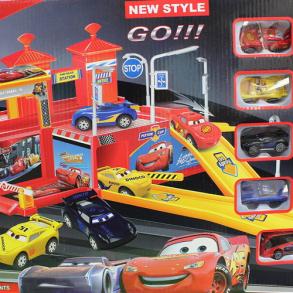 Игровой паркинг с машинками Тачки 3