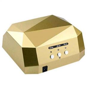 Лампа для сушки гель-лаков Dimond CCFL/LED 36W (золотой цвет)