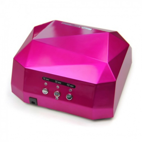 Лампа для сушки гель-лаков Dimond CCFL/LED 36W (розовая)