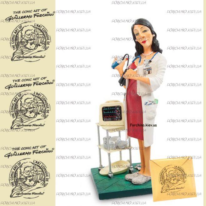 """Фигурка женщина доктор 84006 """"Madam Doctor. Forchino"""""""