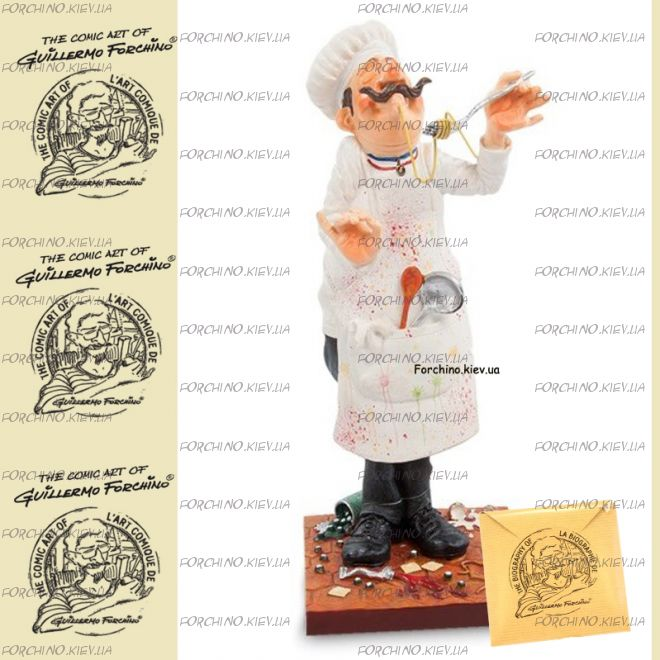 "Фигурка шеф повар 84000 ""The Cook. Forchino"""