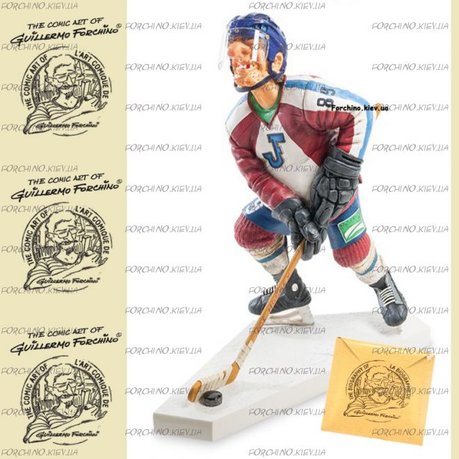 "Фигурка хоккеист 85541 ""The Ice Hockey Player. Forchino"""