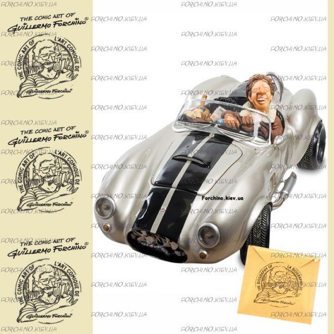 """Автомобиль 85083 """"Shelby Cobra 427 SC Silver. Forchino"""""""