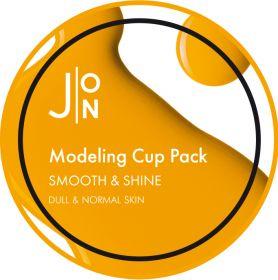 J:ON SMOOTH & SHINE MODELING PACK 18g - Альгинатная маска ГЛАДКОСТЬ И СИЯНИЕ