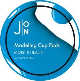 J:ON  MOIST & HEALTH MODELING PACK 18g - Альгинатная маска УВЛАЖНЕНИЕ И ЗДОРОВЬЕ
