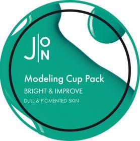 J:ON BRIGHT & IMPROVE MODELING PACK 18g - Альгинатная маска ЯРКОСТЬ И СОВЕРШЕНСТВО