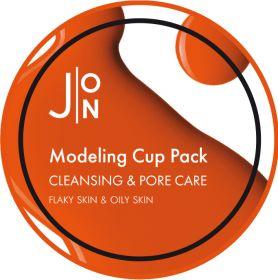 J:ON CLEANSING & PORE CARE MODELING PACK 18g - Альгинатная маска ОЧИЩЕНИЕ И СУЖЕНИЕ ПОР