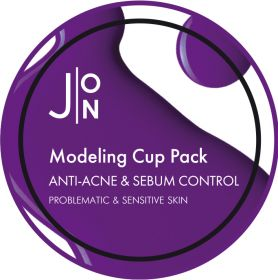 J:ON ANTI-ACNE & SEBUM CONTROL MODELING PACK 18g -Альгинатная маска АНТИ-АКНЕ И СЕБУМ КОНТРОЛЬ