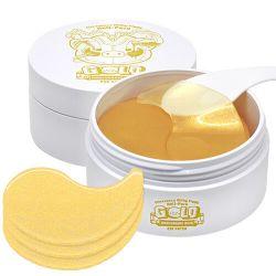 Elizavecca Milky Piggy Hell-pore Gold Hyaluronic Acid Eye Patch 60шт - гидрогелевые патчи с золотом и гиалуроновой кислотой для глаз
