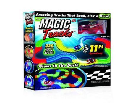 Детский авто-трек Magic Track - 220 деталей