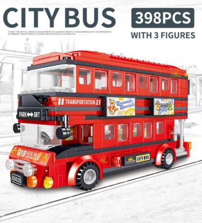 Конструктор Lego Двухэтажный экскурсионный автобус