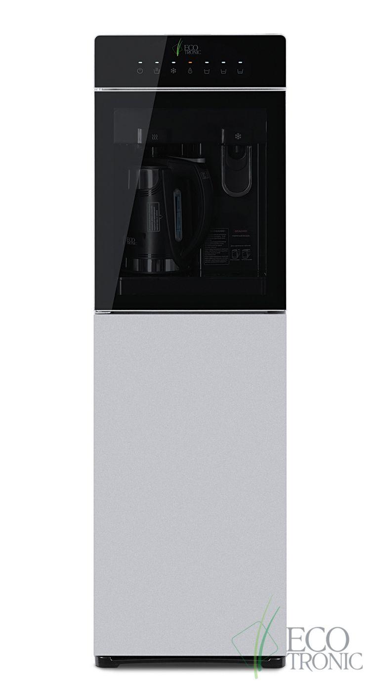 Кулер с чайником Ecotronic M15-LXKEM silver