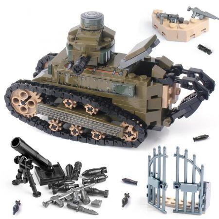 Конструктор Lego Французский танк Renault FT17