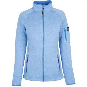 Женская куртка из вязаного флиса 1493