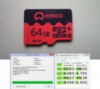 microSD eekoo 64GB C10