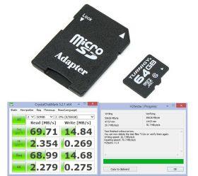 microSD Turnigy 64GB C10