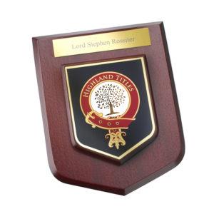 Деревянный настенный герб Glencoe