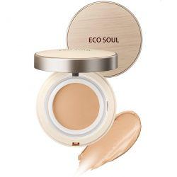 The Saem Eco Soul Cover Stay Foun Balm 17g - тональный бальзам основа под макияж SPF40 PA++