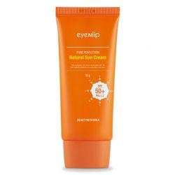 Eyenlip Pure Perfection Natural Sun Cream UV SPF 50+ PA+++ 50g -  солнцезащитный крем для лица