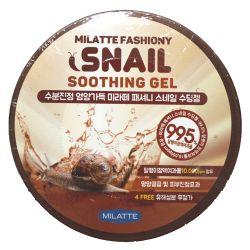 Milatte Fashiony Snail Soothing Gel  300ml - многофункциональный гель с муцином улитки