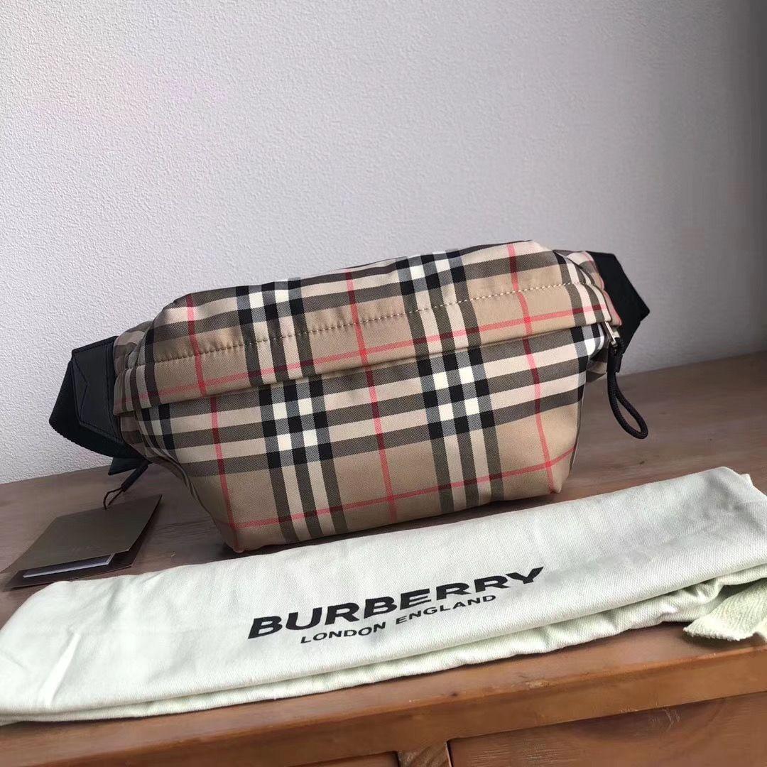 Поясная сумка Burberry Vintage