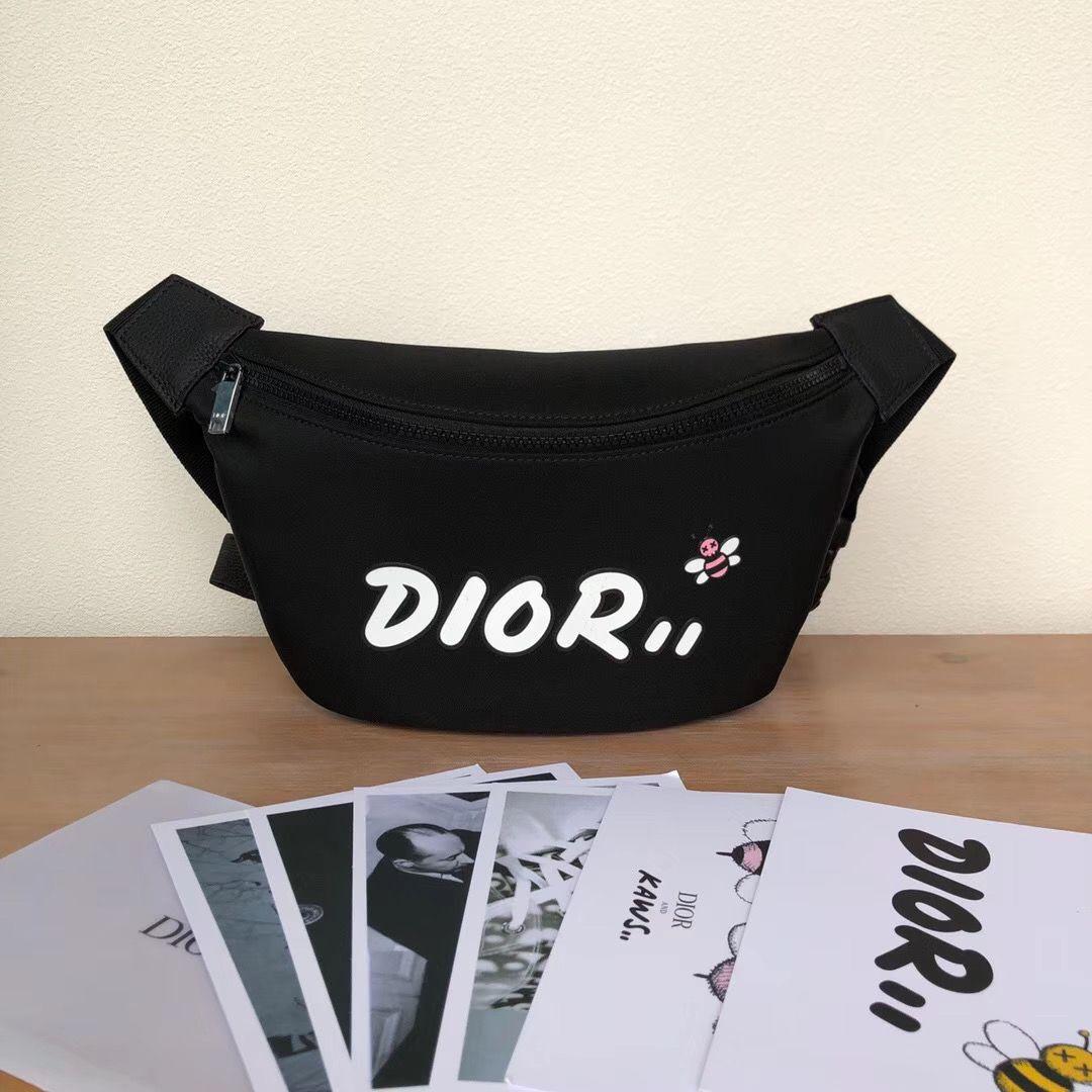 Поясная сумка Dior and Kaws