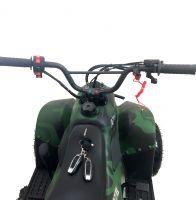 Mowgli S07B  110 сс Квадроцикл бензиновый зеленый камуфляж вид 3