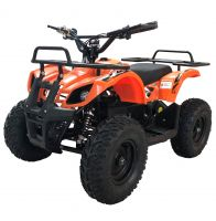 Детский электрический квадроцикл BIG WHEEL 1000 ватт оранжевый 1