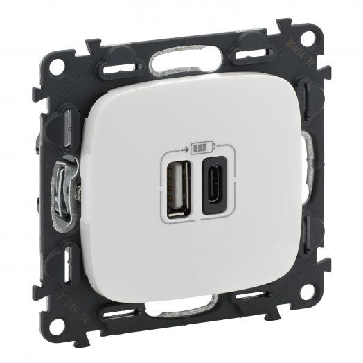 Vln-a БЕЛ Зарядка USB A-C