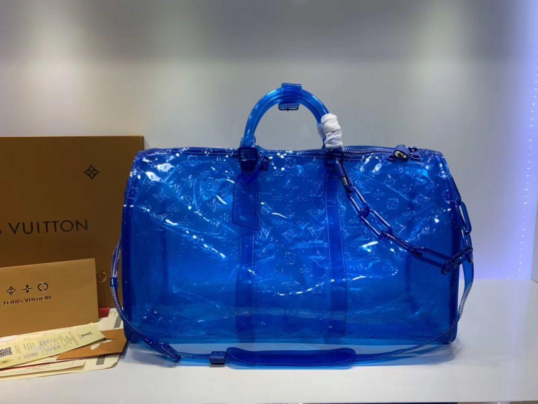Дорожная сумка LV Keepall 50 Virgil Abloh